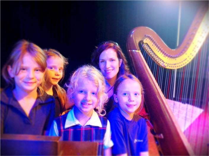 Répétition concert Valérie Milot - école Val Marie