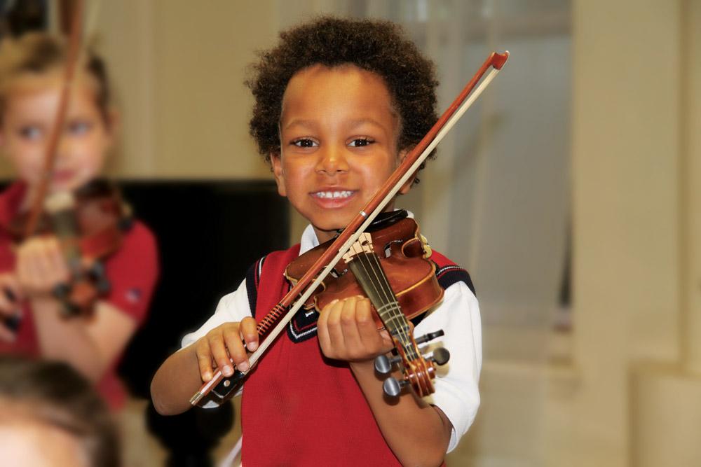 Choisir Val Marie - option musique - violon